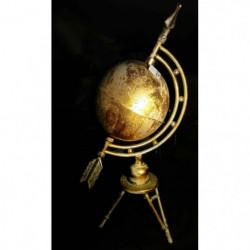 Sphère dorée